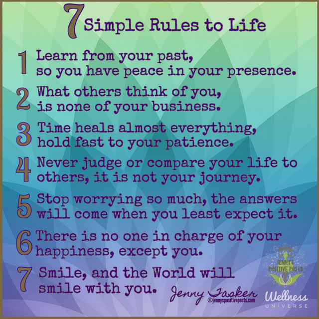 7 simple rules